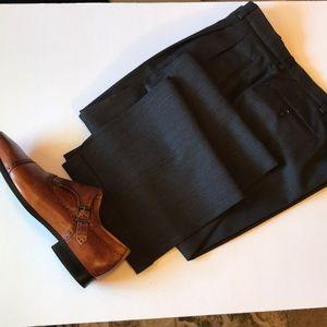 Pronto uomo wool and silk pants